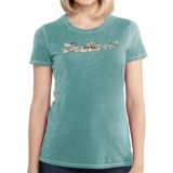 Carhartt Script Logo T-Shirt - Short Sleeve (For Women)