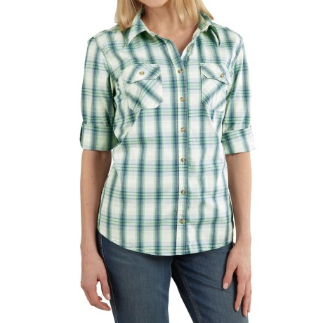 Carhartt Huron Shirt - Long Sleeve (For Women)