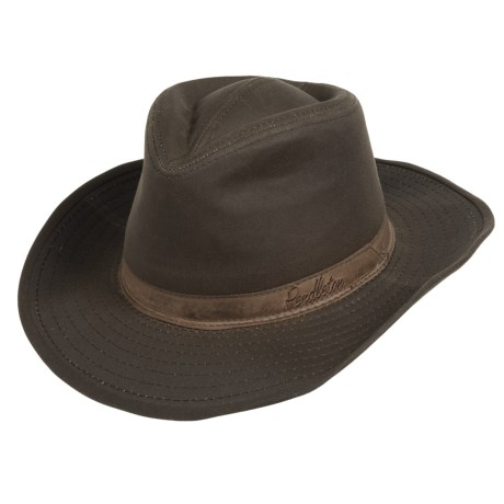 Pendleton Outback Hat - Waxed Cotton (For Men and Women)