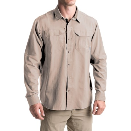 Columbia Sportswear Voyager Omni-Wick® Shirt - Omni-Shade®, Long Sleeve (For Men)