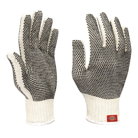 Dickies Dotted Machine Knit Gloves (For Men and Women)