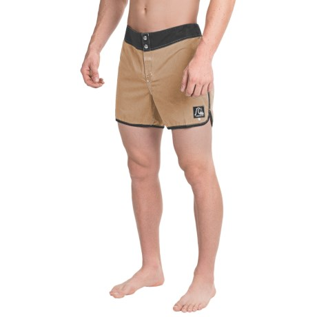 Quiksilver Original Scallop Boardshorts - Touch-Fasten Fly (For Men)