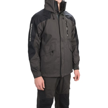 Shimano Dryfender 3T Fishing Jacket - Waterproof (For Men and Big Men)