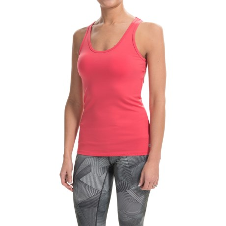 Colosseum Body Hug Tank Top - Cut-Out Back (For Women)