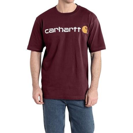 Carhartt Jersey Knit Logo T-Shirt - Short Sleeve (For Men)