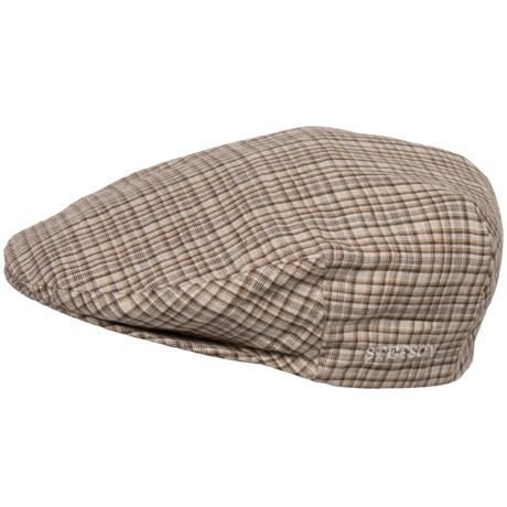 Stetson Plaid Linen Ivy Cap (For Men)