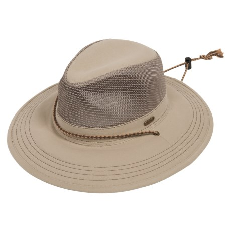 Stetson Washed-Twill Safari Hat (For Men and Women)