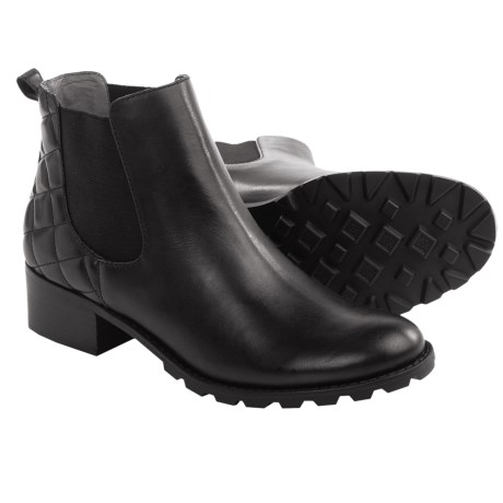 Adrienne Vittadini Leni Chelsea Boots - Leather (For Women)