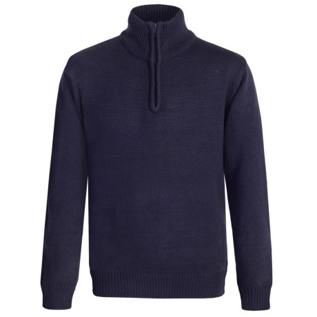 Eddie Bauer Zip Neck Sweater (For Big Boys)