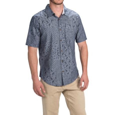 Gramicci Patchwork Parkside Shirt - Short Sleeve (For Men)