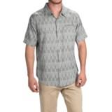 Gramicci Ladder Shirt - Slim Fit, Short Sleeve (For Men)