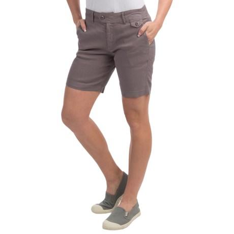 Gramicci Lotti Shorts - Linen-Cotton (For Women)