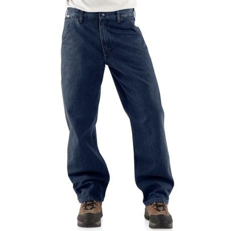Carhartt FR Flame-Resistant Denim Dungaree Jeans - Factory Seconds (For Men)
