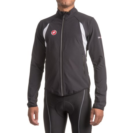 Castelli Race Day Warm-Up Cycling Jacket - Full Zip (For Men)