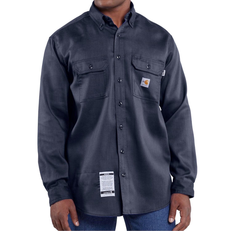 Carhartt Fr Flame Resistant Lightweight Twill Shirt For