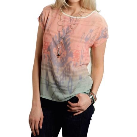 Roper Victorian Garden Shirt - Short Sleeve (For Women)