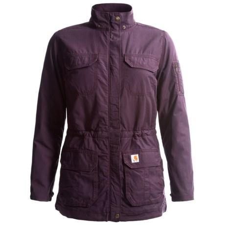 Carhartt Gallatin Coat - Flannel Lined (For Women)