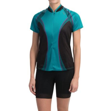 Shebeest Bellissima Cycling Jersey - UPF 45+, Short Sleeve (For Women)