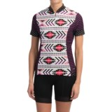 Shebeest S-Cut Cycling Jersey - UPF 45+, Short Sleeve (For Women)