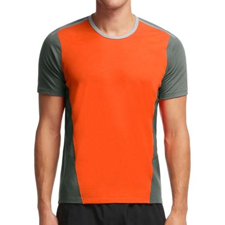 Icebreaker Cool-Lite Strike Shirt - UPF 30+, Merino Wool, Short Sleeve (For Men)