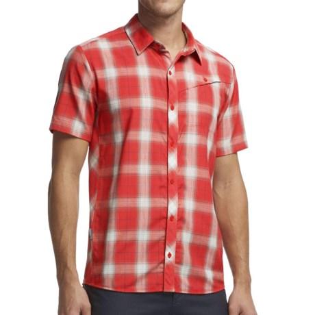 Icebreaker Departure Plaid Shirt - UPF 30+, Merino Wool, Short Sleeve (For Men)