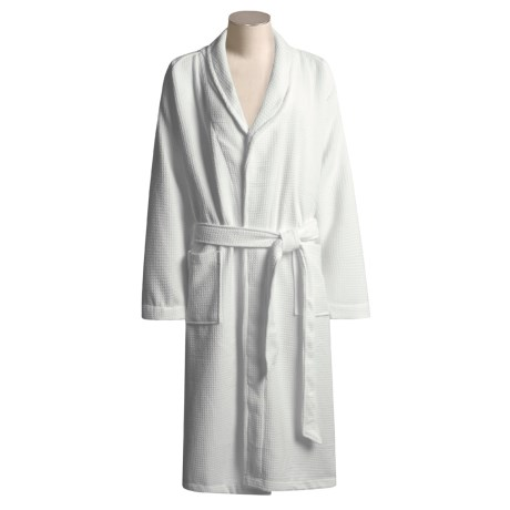Aquis Essentials Microfiber Waffle Robe - Aquitex® (For Women)