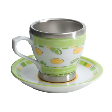 Liquid Solutions Cup and Saucer - 6 fl.oz.