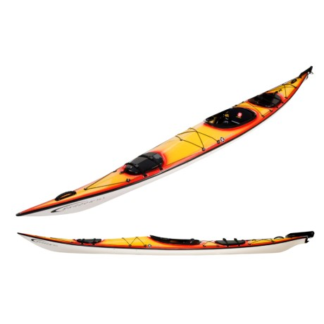 Perception Shadow 16.5 Touring Kayak with Rudder