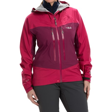 Rab Stretch Polartec® NeoShell® Jacket - Waterproof (For Women)