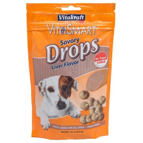 Vitakraft Vitasmart Savory Drop Dog Treats - 7.6 oz.