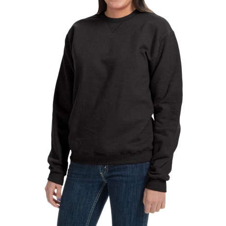 Hanes Premium EcoSmart Sweatshirt - Crew Neck (For Women)