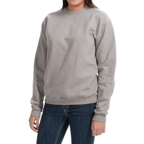 Hanes Premium EcoSmart Sweatshirt - Crew Neck (For Women)
