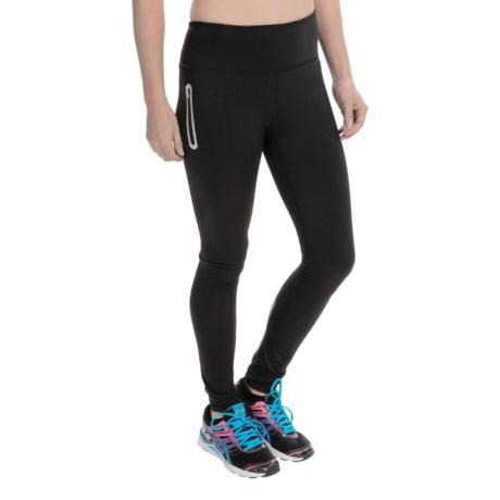 Reebok Dash Leggings - Brushed Interior (For Women)