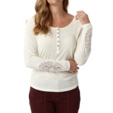 Royal Robbins Abbey Henley Shirt - Organic Cotton, Long Sleeve (For Women)