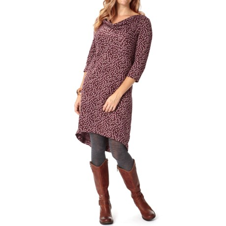 Royal Robbins Ponte Patterned Dress - 3/4 Sleeve (For Women)