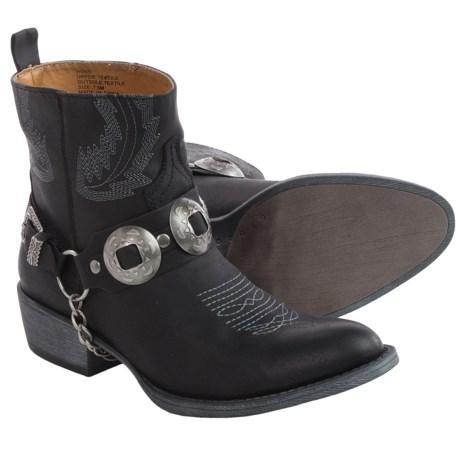 Matisse Hoss Short Cowboy Boots - Vegan Leather (For Women)