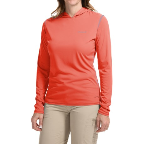 Simms SolarFlex Hoodie Shirt - UPF 50+, Long Sleeve (For Women)
