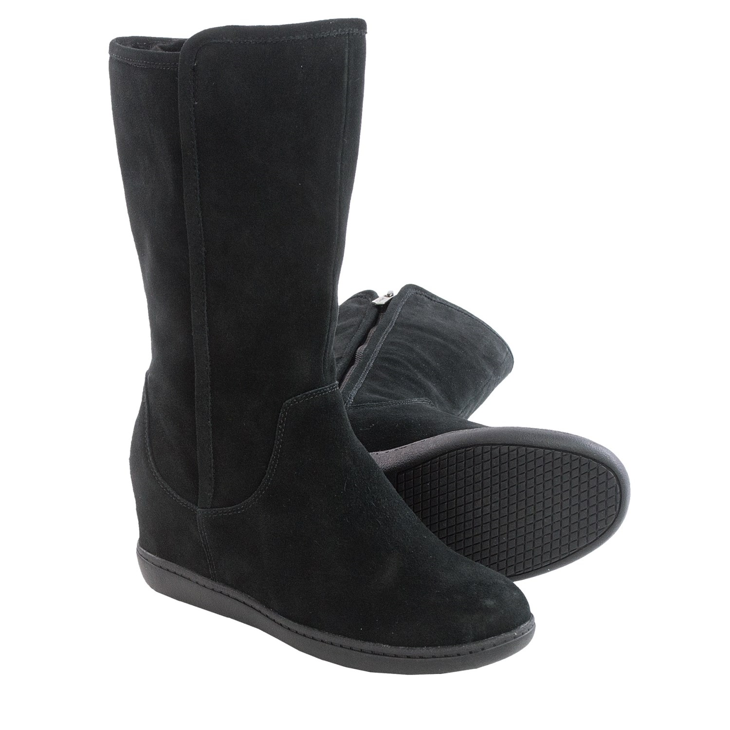 skechers plus 3 pulley suede boots for 104um