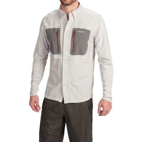 Simms GT TriComp Shirt - UPF 50+, Long Sleeve (For Men)