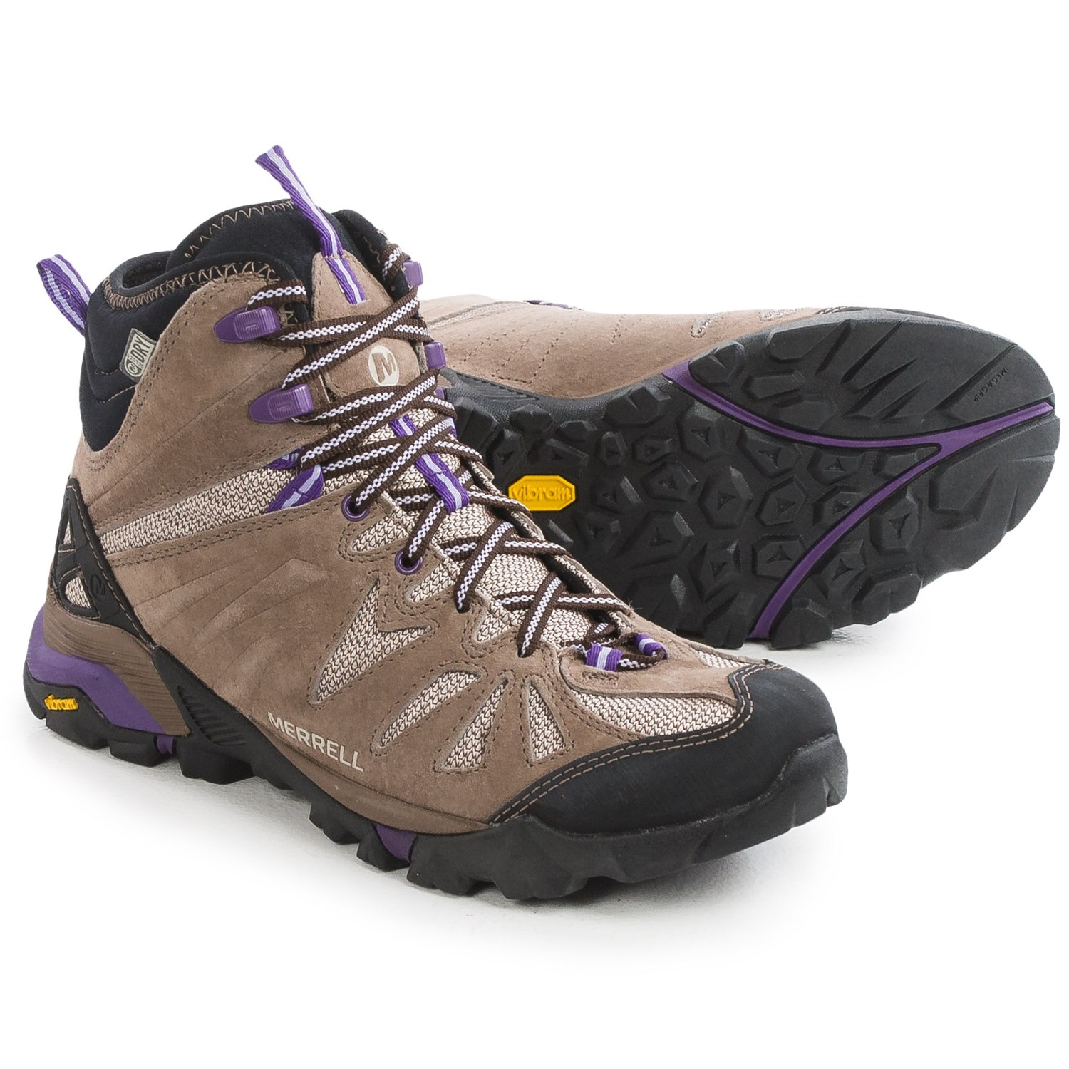 Merrell Capra Mid Hiking Boots (For Women) 104YW - Save 47%