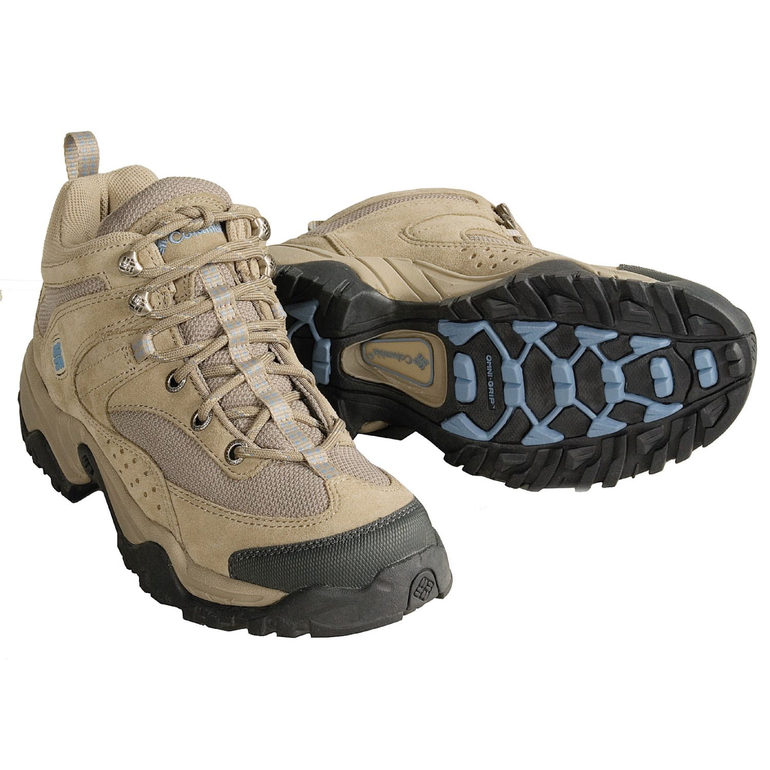 Columbia Women's Shastalavista Mid Omni Light Grey/Voltage Hiking