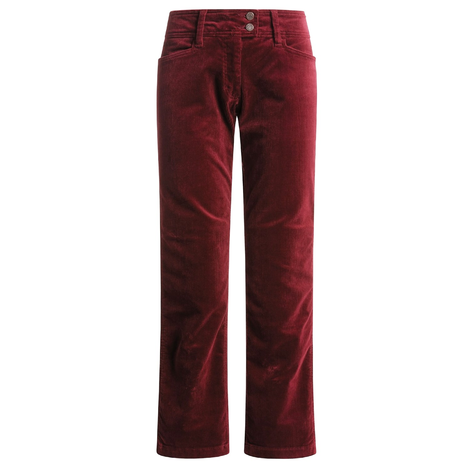 Excellent CORDUROY PANTS  REG Oxblood Red OXRD