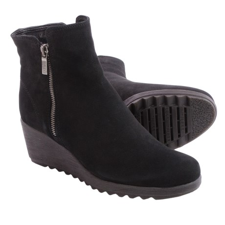 The Flexx Pic A Winner Boots - Nubuck, Wedge Heel (For Women)