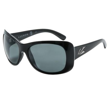 Kaenon Eden Solid Frame Sunglasses - Polarized (For Women)