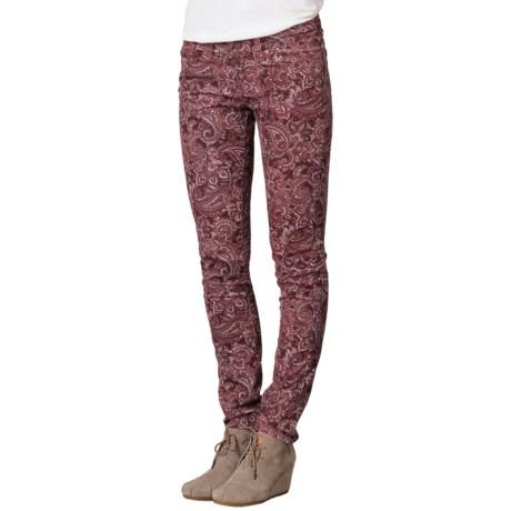 prAna Trinity Corduroy Pants - Organic Cotton, Low Rise (For Women)