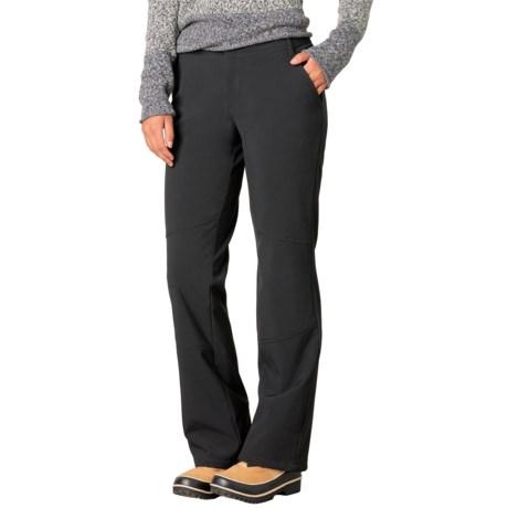 prAna Gondola Soft Shell Pants - Fleece Lined (For Women)