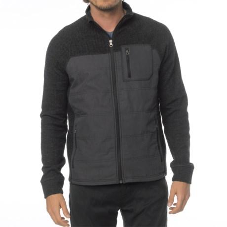 prAna Appian Sweater - Zip Front, Wool Blend (For Men)