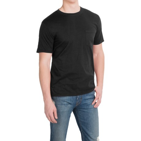Cotton Pocket T-Shirt - Short Sleeve (For Men and Women)