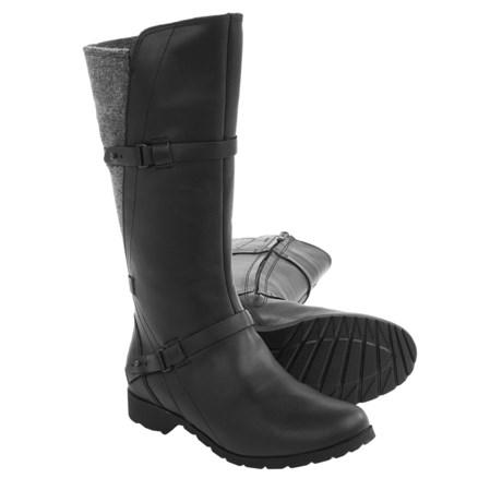 Teva De La Vina Boots - Felted Back, Leather (For Women)