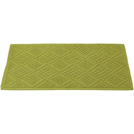 Coyuchi Air Weight Bath Rug - Organic Cotton